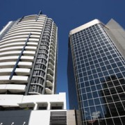 two buildings in brisbane
