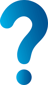 logo of a blue question mark